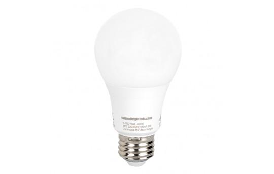 A19 LED Bulb - 60 Watt Equivalent - Dimmable - 840 Lumens - A19D-x9