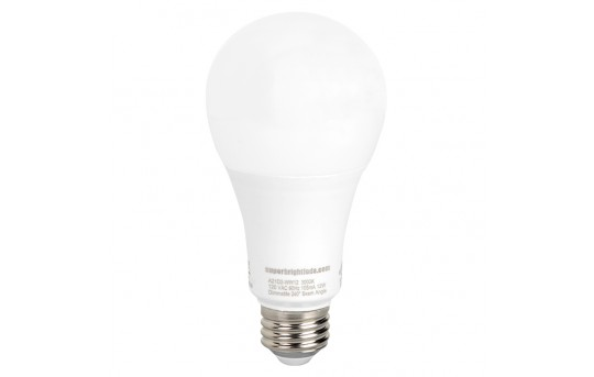 A21 LED Bulb - 75 Watt Equivalent - Dimmable - 1,100 Lumens - A21D2-x12