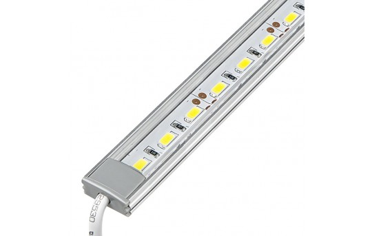 Aluminum LED Light Bar Fixture - Low Profile Surface Mount - 1,440 Lumens - ALB-xW1M-SM