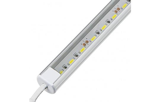 O-Shaped Aluminum LED Light Bar Fixture - 1,440 Lumens - ALB-xW1M-RO