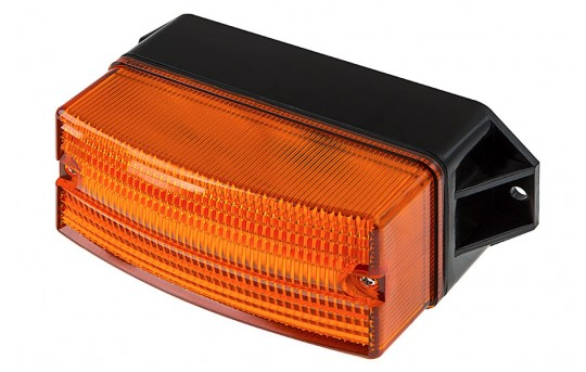 "4-1/2"" Amber LED Strobe Light Beacon - Surface Mount - 8 LEDs - STB-A423"