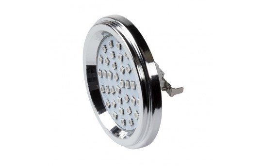 AR111 LED Boat and RV Light Bulb - 36 SMD LED Bi-Pin Flood Light Bulb - 60 Watt Equivalent - 600 Lumens - AR111-x36SMD-RVB