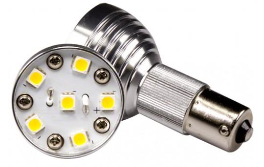 R12 LED Bulb - 6 LED 1156 Bulb - BA15S Retrofit - 175 Lumens - BA15S-x6W-SP