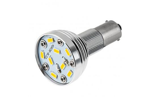 R12 LED Bulb - 1156 Bulb - 40 Watt Equivalent - 12V AC/DC - BA15S Retrofit - 335 Lumens - BA15S-x8-SP