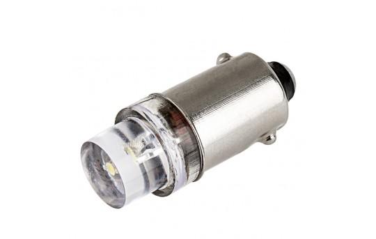 BA9s LED Bulb - 1 LED - BA9s Retrofit - BA9s-x-x-xVAC-CAR