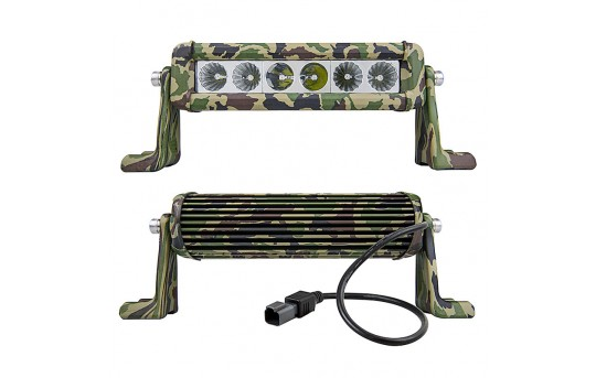 "8"" Camo Off Road LED Light Bar w/ Spot/Flood Combo Beam - 30W - 2,100 Lumens - ORBW8-30WS-CB"