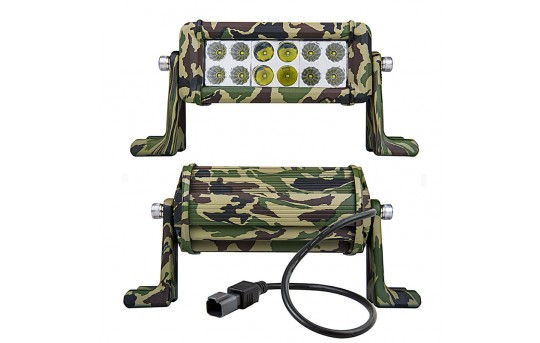 "6"" Camo Off Road LED Light Bar with Spot/Flood Combo - 36W - ORBW6-36WD-CB"
