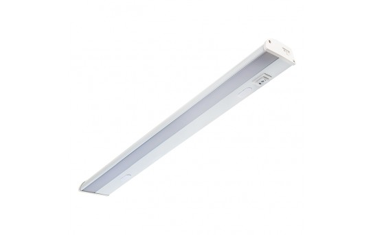 "Dimmable Under Cabinet LED Lighting Fixture w/ Rocker Switch - 16.5"" - 545 Lumens - UC16D-x10F"