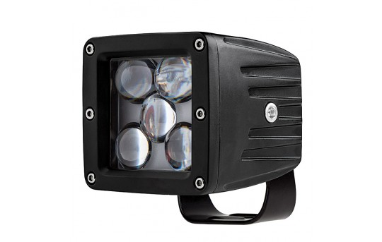 "LED Fog Light - 3"" Square - 20W - 1,700 Lumens - DL-CW25W"