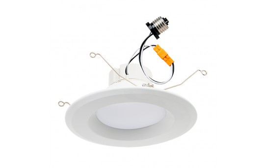 "LED Recessed Lighting Kit for 5"" to 6"" Cans - Retrofit LED Downlight w/ Open Trim - 100 Watt Equivalent - Dimmable - 1,550 Lumens - DL56D-x20W"