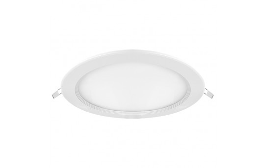 "8"" Round LED Panel Light - 190 Watt Equivalent - Dimmable - 1,900 Lumens - Cosmetic Blemish - DLS8D-NW24W-DM"