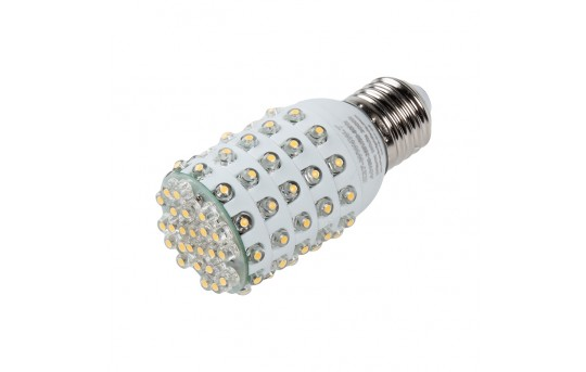 T10 LED Bulb, 84 LED Corn Light - 4 Watt - 340 Lumens - E27-x4W-T