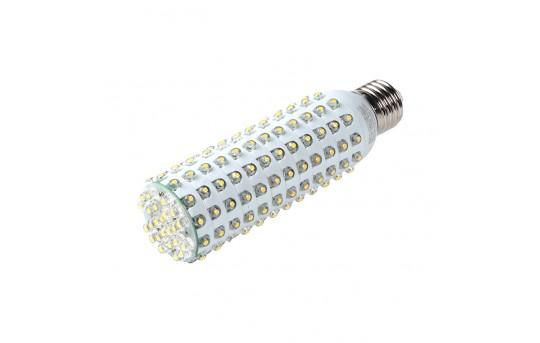 T10 LED Bulb, 168 LED Corn Light - 8 Watt - 40 Watt Equivalent - 540 Lumens - E27-x8W-T