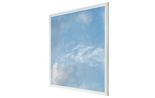 LED Skylight - 2x2 Even-Glow® LED Panel Light w/ SkyLens® - Summer Sky - Drop Ceiling Recessed Mount - EG-C5-x22