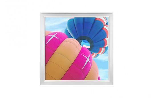 LED Skylight w/ Balloon 1 Skylens® - 2x2 Dimmable LED Panel Light - Flush Mount/Drop Ceiling Recessed Mount - EGD-B1-x22