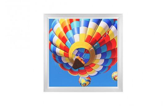LED Skylight w/ Balloon 2 Skylens® - 2x2 Dimmable LED Panel Light - Flush Mount/Drop Ceiling Recessed Mount - EGD-B2-x22