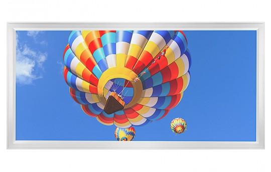 LED Skylight w/ Balloon 2 Skylens® - 2x4 Dimmable LED Panel Light - Flush Mount/Drop Ceiling - EGD-B2-x24