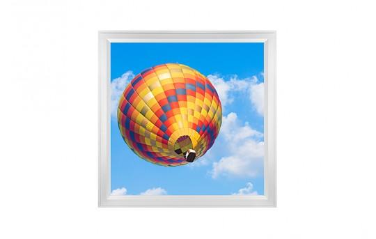 LED Skylight w/ Balloon 4 Skylens® - 2x2 Dimmable LED Panel Light - Flush Mount/Drop Ceiling - EGD-B4-x22