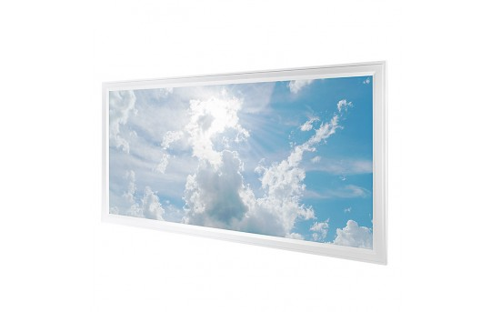 LED Skylight - 2x4 Dimmable Even-Glow® LED Panel Light w/ SkyLens® - Flush Mount - EGD-x-x24