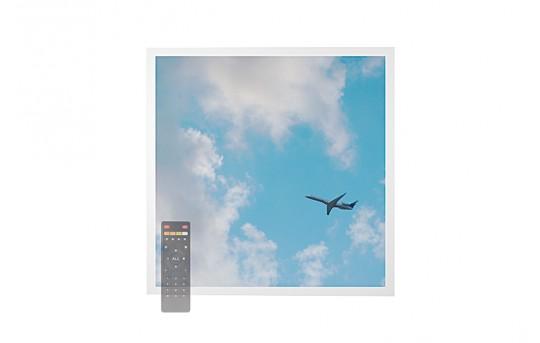 Tunable White LED Skylight w/ Jet Set SkyLens® - 2x2 Dimmable LED Panel Light - Drop Ceiling - EGD-C3-VCT22