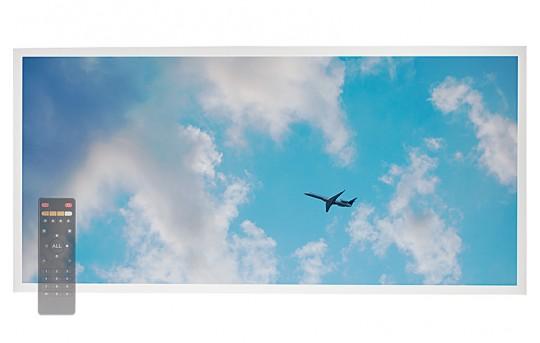 Tunable White LED Skylight w/ Jet Set SkyLens® - 2x4 Dimmable LED Panel Light - Drop Ceiling - EGD-C3-VCT24