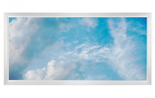 LED Skylight w/ Summer Skylens® - 2x4 Dimmable LED Panel Light - Flush Mount/Drop Ceiling Recessed Mount - EGD-C5-x24