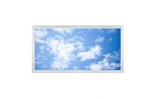 LED Skylight w/ Lazy Day Skylens® - 2x4 Dimmable LED Panel Light - Flush Mount/Drop Ceiling - EGD-C6-x24
