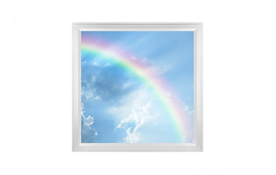 LED Skylight w/ Rainbow Skylens® - 2x2 Dimmable LED Panel Light - Flush Mount/Drop Ceiling - EGD-C7-x22