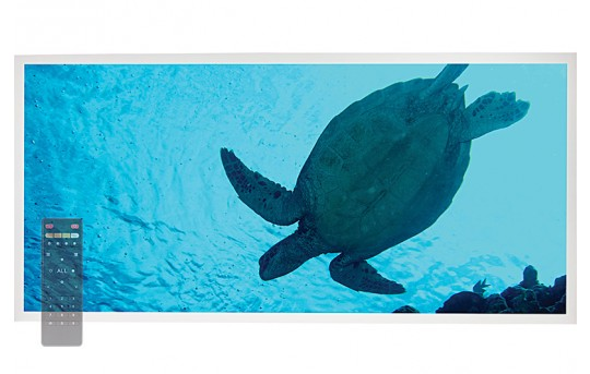 Tunable White LED Skylight w/ Sea Turtle SkyLens® - 2x4 - Dimmable - Drop Ceiling - EGD-W2-VCT24
