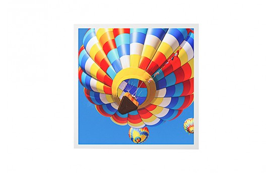 LED Skylight w/ Ballon 2 Skylens® - 2x2 Dimmable LED Panel Light - Drop Ceiling Recessed Mount - EGD2-B2-x22
