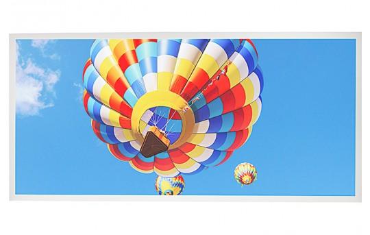 LED Skylight w/ Ballon 2 Skylens® - 2x4 Dimmable LED Panel Light - Drop Ceiling Recessed Mount - EGD2-B2-x24