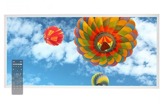Tunable White LED Skylight w/ Balloon 3 SkyLens® - 2x4 Dimmable LED Panel Light - Drop Ceiling - EGD-B3-VCT24