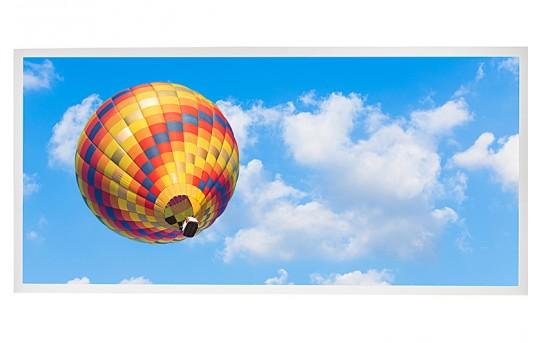 LED Skylight w/ Ballon 4 Skylens® - 2x4 Dimmable LED Panel Light - Drop Ceiling Recessed Mount - EGD2-B4-x24