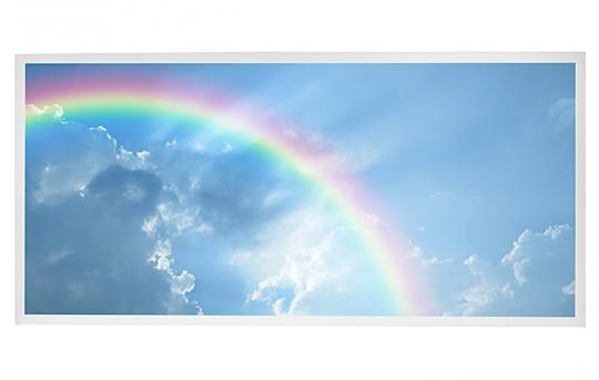 LED Skylight w/ Rainbow Skylens® - 2x4 Dimmable LED Panel Light - Drop Ceiling Recessed Mount - EGD2-C7-x24