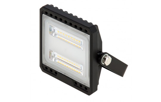 10 Watt LED Flood Light Fixture - Low Profile - 4000K - 75 Watt Equivalent - 950 Lumens - FLSC2-x10