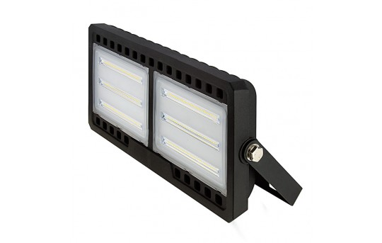 100 Watt LED Flood Light Fixture - Low Profile -  4000K - 175 Watt MH Equivalent - 9,300 Lumens - FLSC2-x100