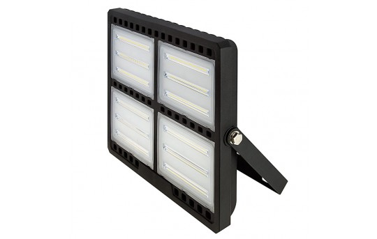 200 Watt LED Flood Light Fixture - Low Profile - 4000K - 400 Watt MH Equivalent - 19,000 Lumens - FLSC2-x200