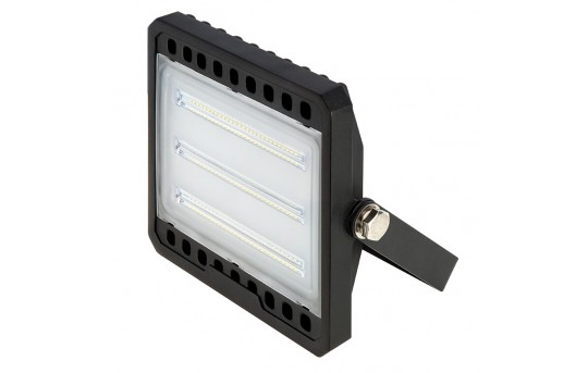 50 Watt LED Flood Light Fixture - Low Profile - 4000K - 100 Watt MH Equivalent - 4,600 Lumens - FLSC2-x50
