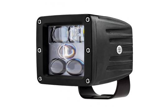 "LED Fog Light - 3"" Square - 13W - 1,700 Lumens - FOG-CW25W"