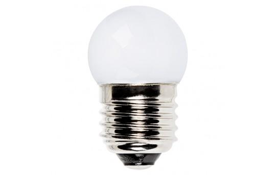 G11 LED Bulb - 5 Watt Equivalent LED Globe Bulb - 27 Lumens - E27-x8-G