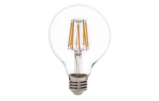 G25 LED Filament Bulb - 60 Watt Equivalent LED Vintage Light Bulb - Dimmable - 650 Lumens - G25D-WW6DF