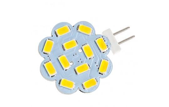 G4 LED Landscape Light Bulb - 40 Watt Equivalent - Bi-Pin LED Disc - 340 Lumens - G4-x12-DAC-LAN