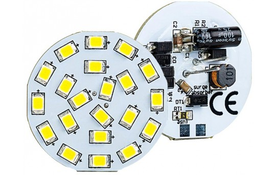 G4 LED Landscape Light Bulb - 40 Watt Equivalent - Bi-Pin LED Disc - 320 Lumens - G4B-xHP21-DAC-LAN