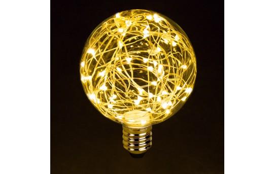 G30/G95 LED Fairy Light Bulbs - 10 Watt Equivalent - 65 Lumens - G95-x-MW