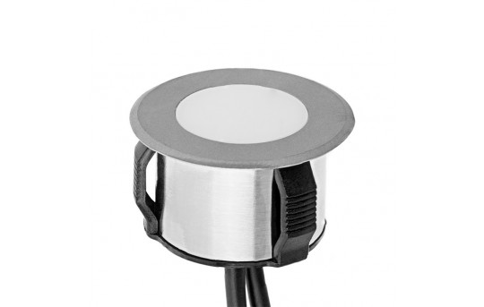 LED In-Ground Well Light - 1 Watt Equivalent - Stainless Steel Housing - 4 Lumens - GLUX-x03W-U120