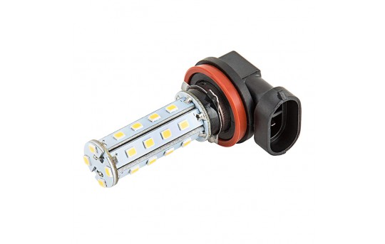 H11 LED Fog Light/Daytime Running Light Bulb - 28 SMD LED Tower - H11-WHP28-DRL