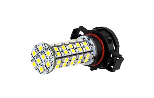 H16 LED RV Light Bulb - LED Fog Light/Daytime Running Light Bulb - 68 SMD LED Tower - H16-WHP68-DRL-RVB