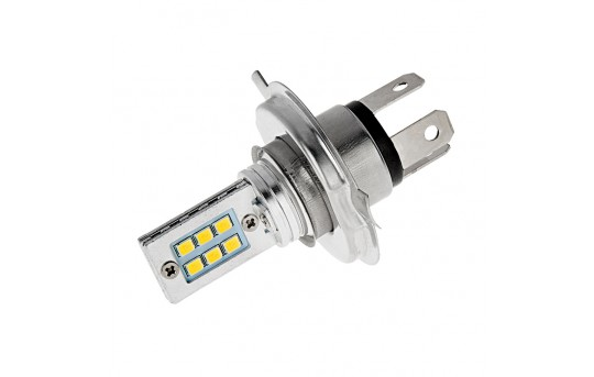 H4 LED Fog Light/Daytime Running Light Bulb - 12 SMD LED Tower - H4-W12