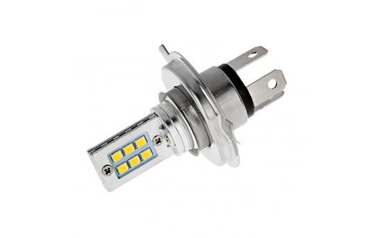 H4 LED Bulb - 12 SMD LED Daytime Running Light - H4-W12
