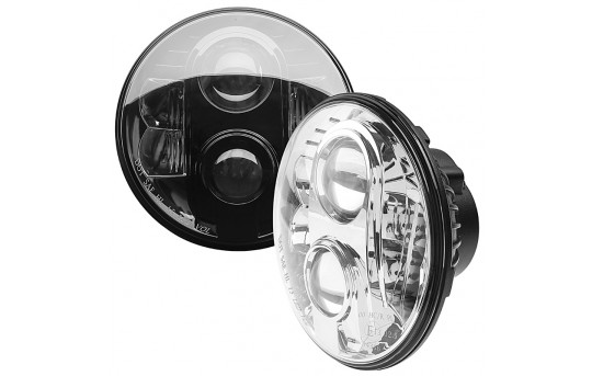 "7"" Round H6024 LED Projector Headlights - LED Headlights Conversion - Sealed Beam - H6024-60x-H"